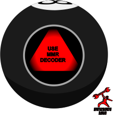 MMR Automotive Magic 8 Ball - Use MMR Decoder